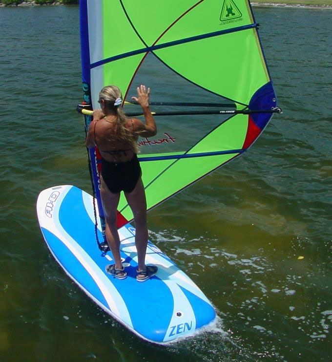 Windsurfing school