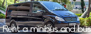 Rent a minibus and bus
